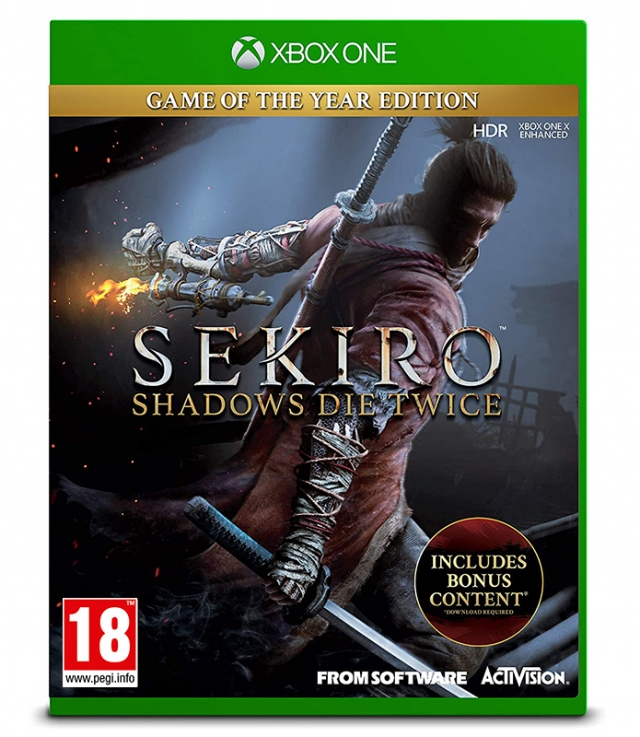 SEKIRO SHADOWS DIE TWICE Game of The Year Edition XBOX ONE