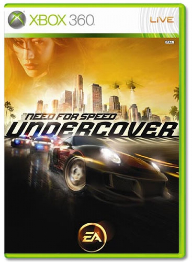 NEED FOR SPEED UNDERCOVER XB360