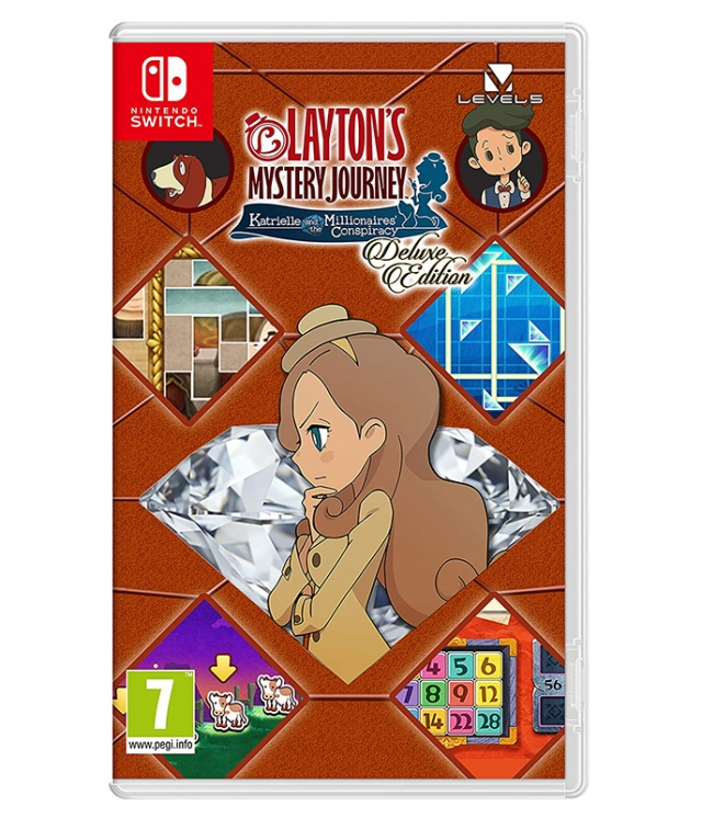 Laytons Mystery Journey: Katrielle and the Millionaires Conspiracy Switch
