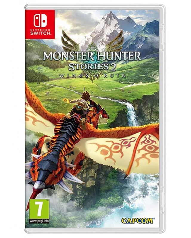 MONSTER HUNTER STORIES 2 Wings of Ruin (EM PORTUGUÊS) ) Switch