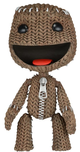 Figura LITTLEBIGPLANET Happy Sackboy