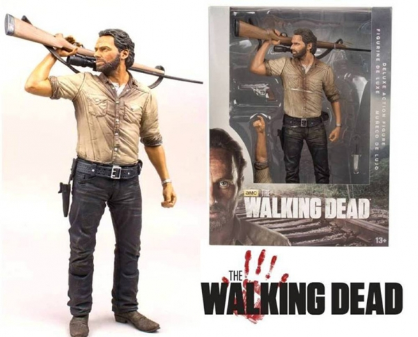 Figura THE WALKING DEAD Rick Grimes (25cm)