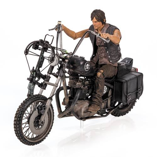 Figura THE WALKING DEAD Daryl Dixon com Chopper