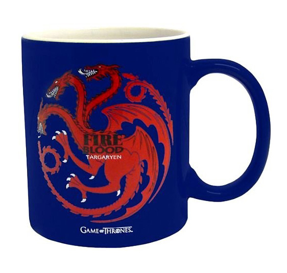 Caneca GAME OF THRONES Targaryen Fire & Blood