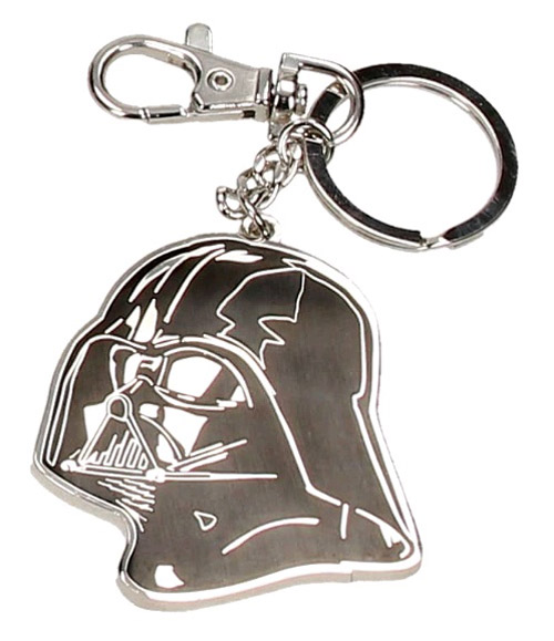 Porta-Chaves STAR WARS Darth Vader Helmet Flat Metal