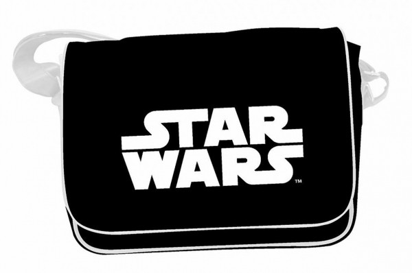 Mala STAR WARS White Logo