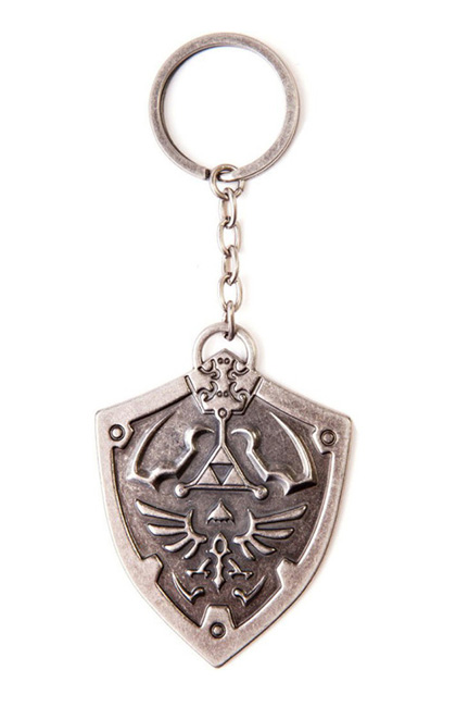Porta-Chaves NINTENDO Zelda Sculpted Shield Metal