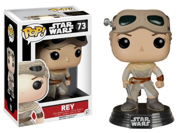 POP STAR WARS #73 Rey With Goggles (10 cm)