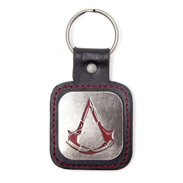 Porta-Chaves ASSASSINS CREED Metal Logo & Pu Snap