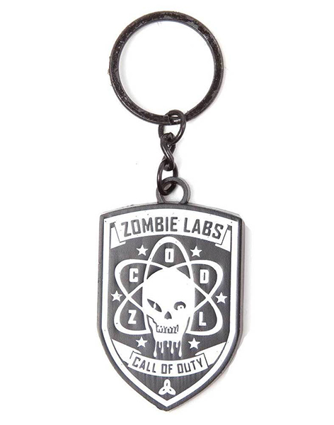 Porta-Chaves CALL OF DUTY Zombie Labs Metal
