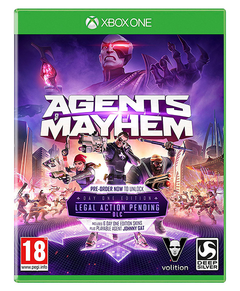 AGENTS OF MAYHEM XBOX ONE