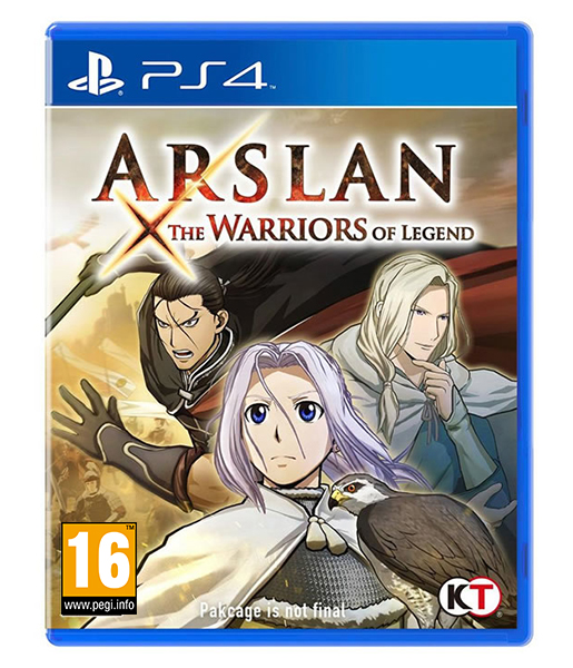 ARSLAN THE WARRIORS OF LEGEND PS4