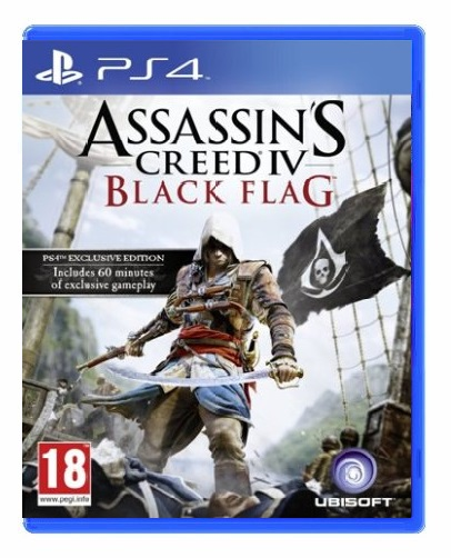 ASSASSINS CREED IV BLACK FLAG HITS PS4