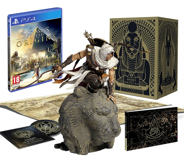 ASSASSINS CREED ORIGINS Gods Edition (EM PORTUGUÊS) PS4