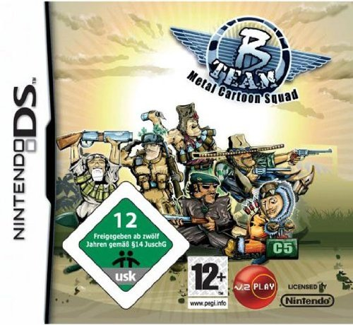 B TEAM: METAL CARTOON SQUAD DS