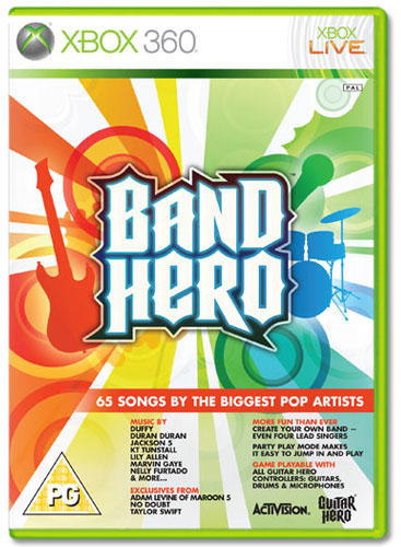 BAND HERO XB360