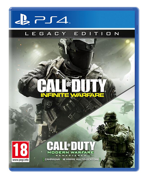 CALL OF DUTY INFINITE WARFARE Legacy Edition PS4