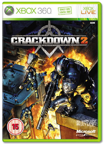 CRACKDOWN 2 XB360