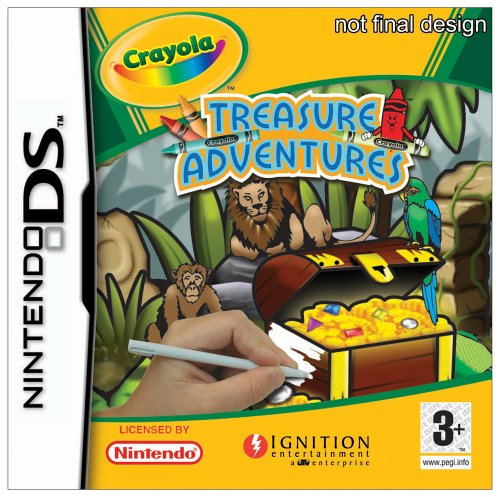 CRAYOLA: TREASURE ADVENTURES DS