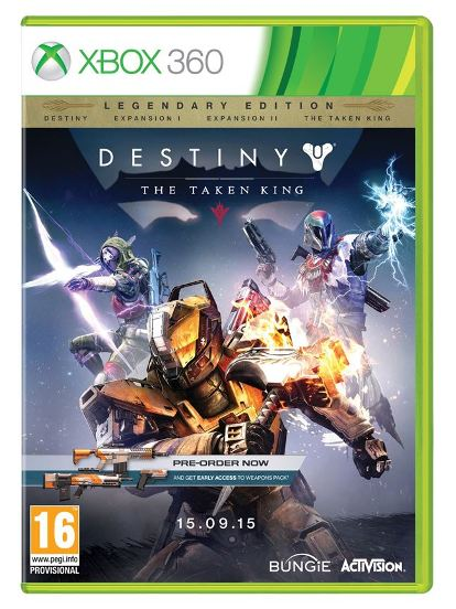DESTINY THE TAKEN KING Legendary Edition (Com Ofertas) XB360