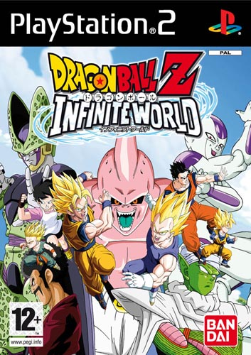 DRAGONBALL Z: INFINITE WORLD PS2