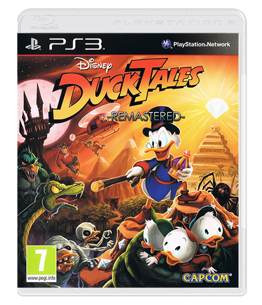 DUCKTALES Rermastered PS3