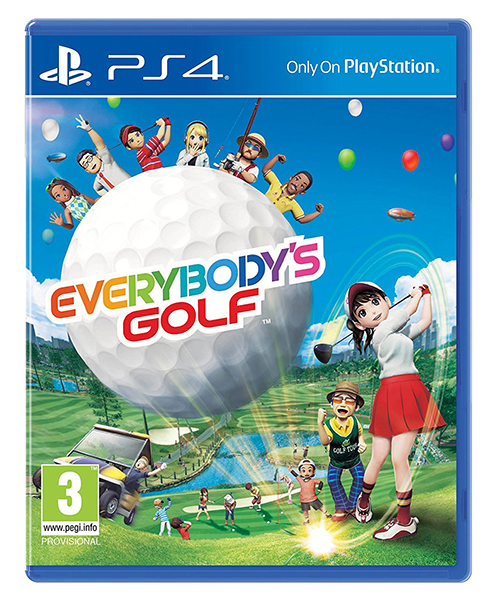 EVERYBODYS GOLF (EM PORTUGUÊS) PS4