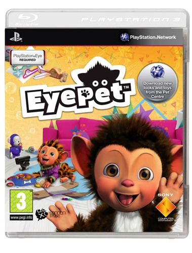 EYE PET - Move Edition (EM PORTUGUÊS) PS3