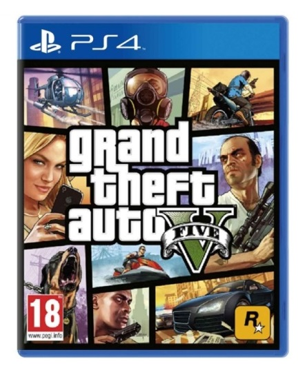 GRAND THEFT AUTO V (EM PORTUGUÊS) PS4