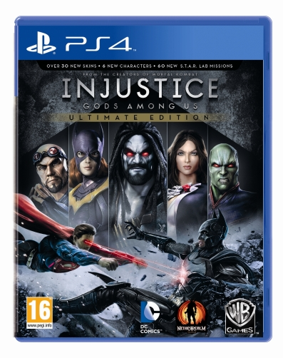 INJUSTICE GODS AMONG US Ultimate Edition PS4