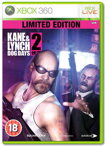 KANE & LYNCH 2: DOG DAYS Limited Edition XB360