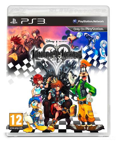 KINGDOM HEARTS 1.5 HD REMIX  PS3