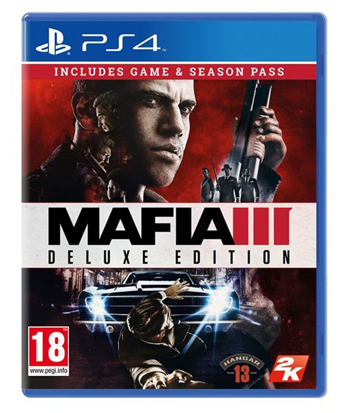 MAFIA 3 Deluxe Edition (EM PORTUGUÊS) [Oferta Family Kick-Back Pack DLC] PS4