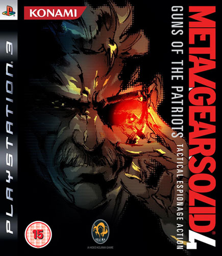 METAL GEAR SOLID 4 GUNS OF THE PATRIOTS PS3