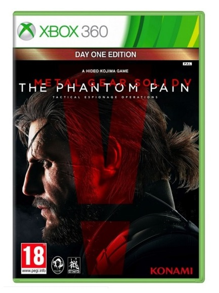METAL GEAR SOLID V THE PHANTOM PAIN Day One Edition (EM PORTUGUÊS) XB360