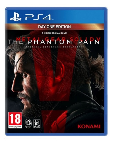 METAL GEAR SOLID V THE PHANTOM PAIN Day One Edition (EM PORTUGUÊS) PS4