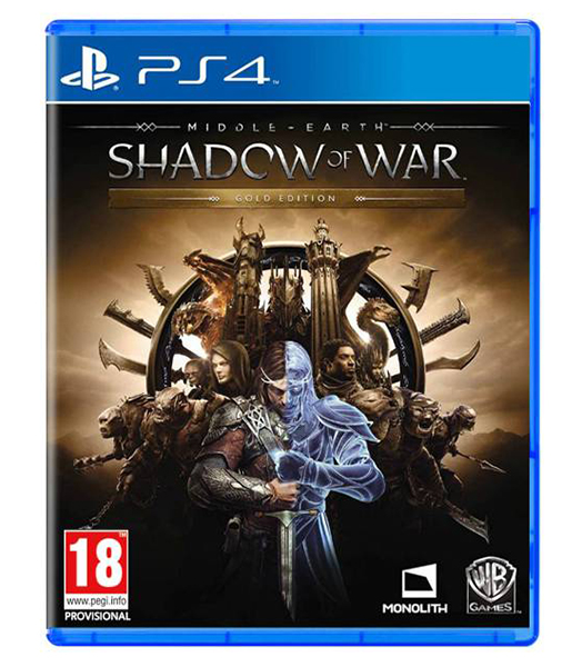 MIDDLE EARTH SHADOW OF WAR Gold Edition PS4