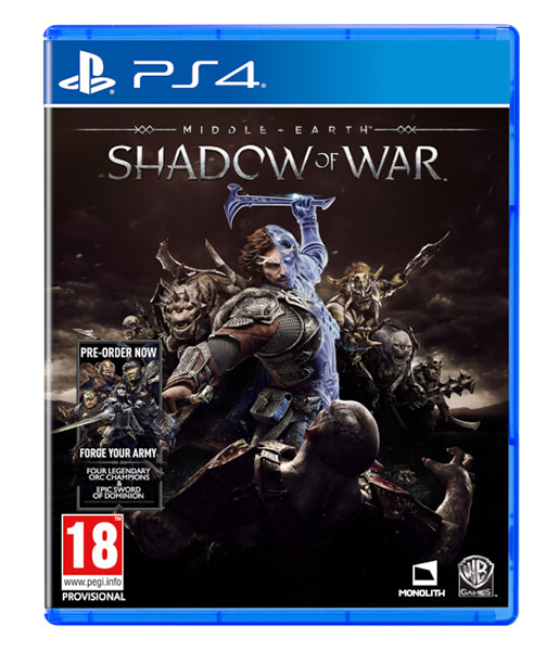 MIDDLE EARTH SHADOW OF WAR (Oferta DLC) PS4