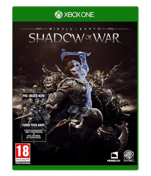 MIDDLE EARTH SHADOW OF WAR (Oferta DLC) XBOX ONE
