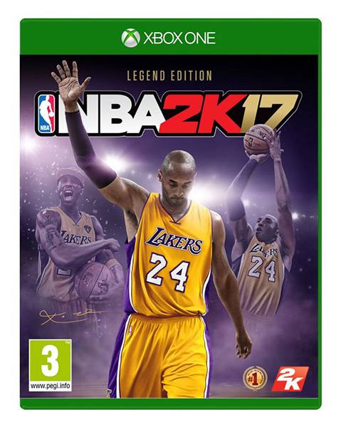 NBA 2K17 Legend Edition XBOX ONE