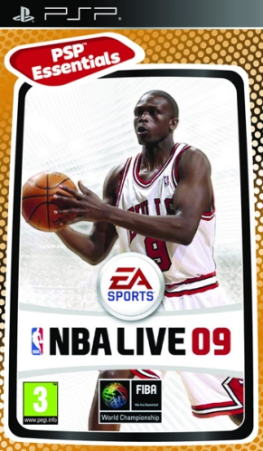 NBA LIVE 09 - Essentials PSP