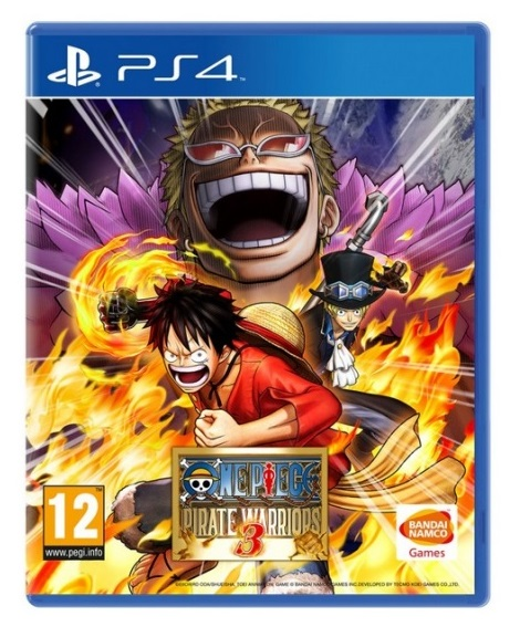 ONE PIECE PIRATE WARRIORS 3 HITS PS4