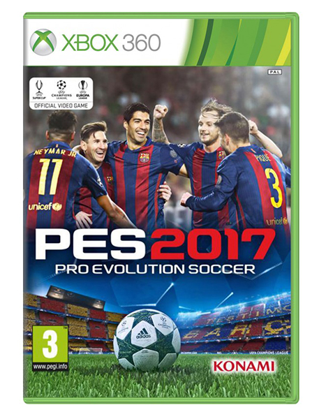 PRO EVOLUTION SOCCER 2017 Day One Edition XB360