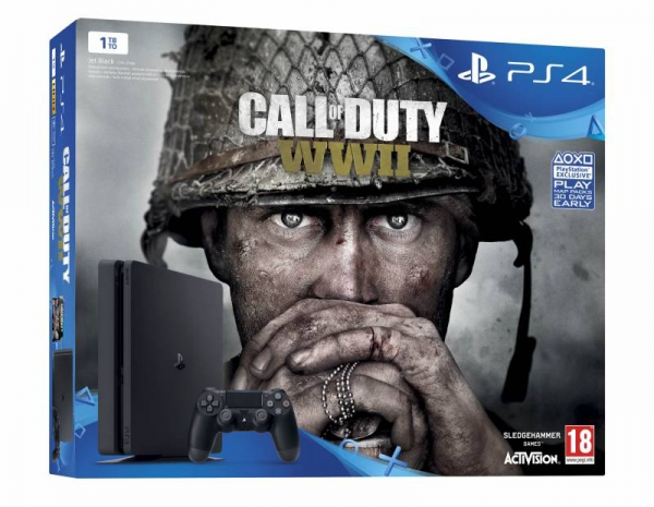 PS4 CONSOLA SONY PLAYSTATION 4 1TB CALL OF DUTY WWII
