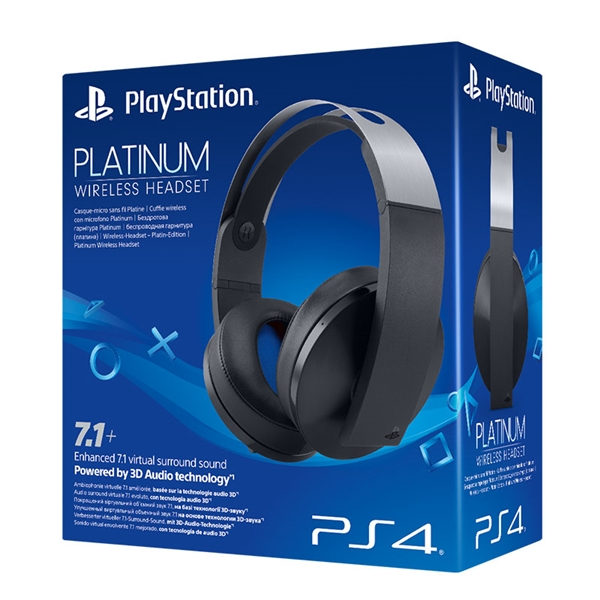 AUSCULTADORES GAMING SONY WIRELESS Platinum