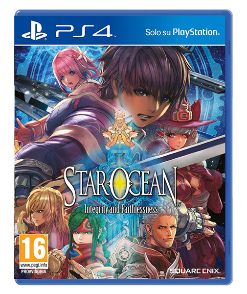STAR OCEAN INTEGRITY AND FAITHLESSNESS PS4