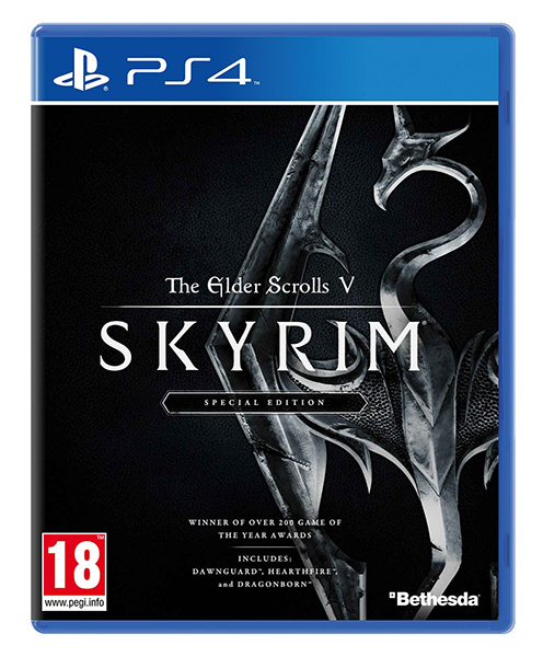 THE ELDER SCROLLS V SKYRIM Special Edition PS4