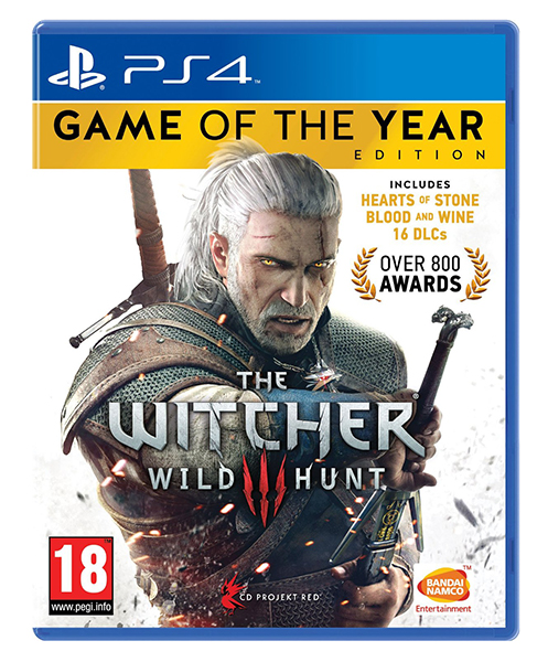 THE WITCHER 3 WILD HUNT Game of The Year Edition PS4 | PS5