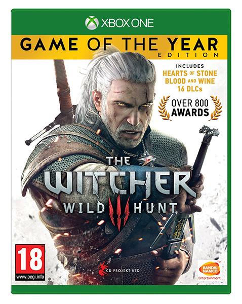 THE WITCHER 3 WILD HUNT Game of The Year Edition XBOX ONE