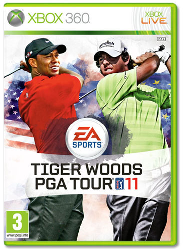 TIGER WOODS PGA TOUR 11 XB360